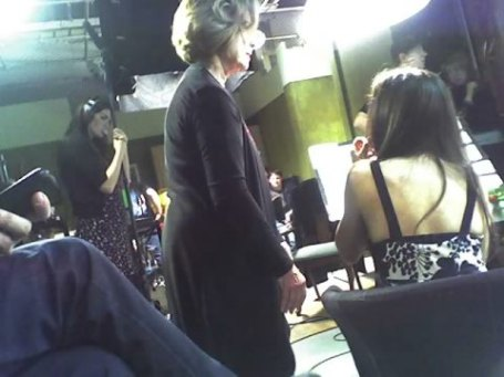 "Shooting the Academy of Art short ""It Isn't Working"", Emmy and Golden Globe nominee Diane Baker co-instructing"